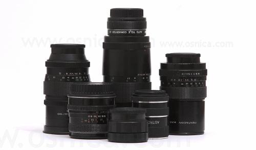 Kolekcia M42 objektívov