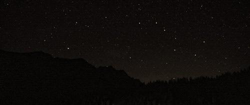 Krásna letná hviezdna noc - Veľký voz